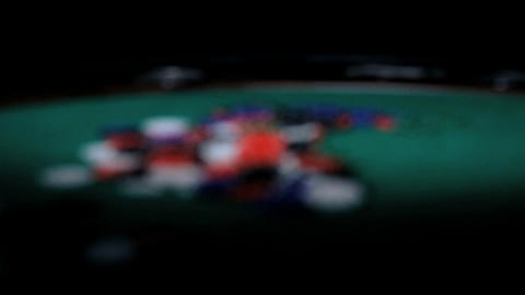 Color Chips. Poker Stock Video Footage
