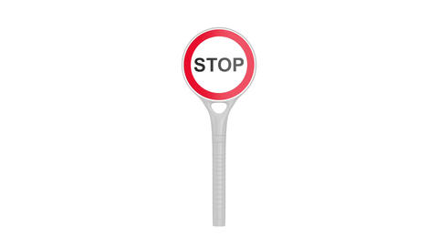 Stop sign Stock Video Footage