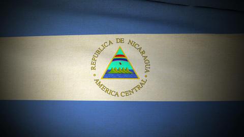 Flag Nicaragua 04 Animation