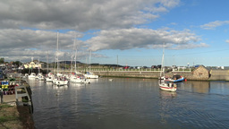 Courtown Harbour 2 Stock Video Footage