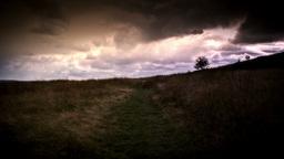 Moorland Landscape Footage