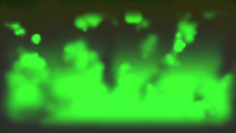 Cloudy Smoke Green Stock Video Footage