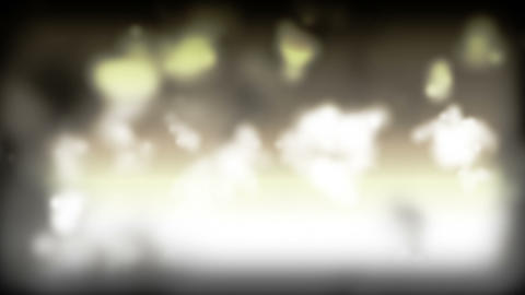 Cloudy Smoke Saturation Stock Video Footage