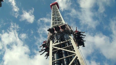 Extreme attraction Stock Video Footage