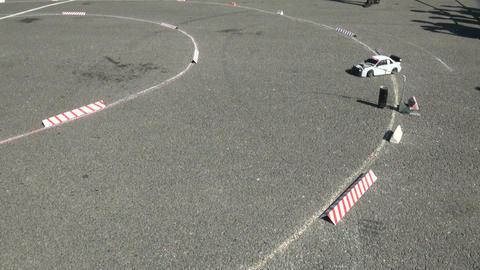Racing RC cars Footage