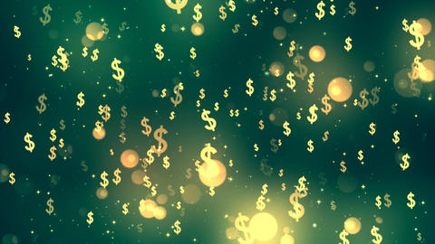 Dollar Fall stock footage