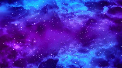 Galaxy Nebula 1 Stock Video Footage