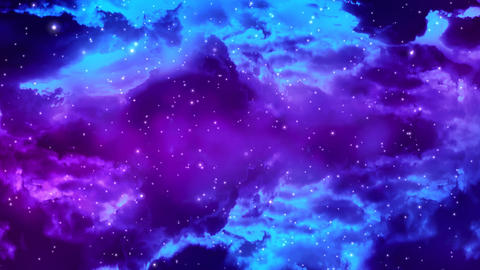 Galaxy Nebula 1 Stock Video Footage