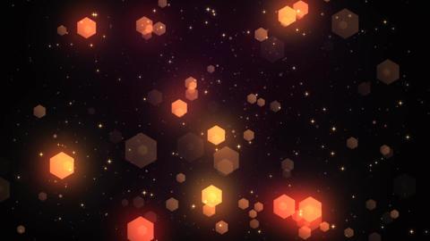 Fantasy Hexagons 1 Stock Video Footage