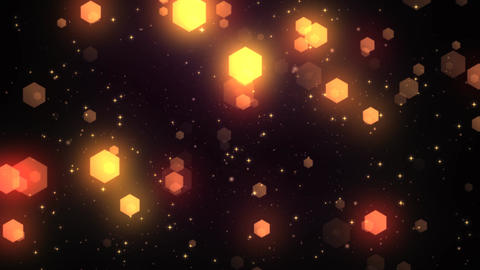 Fantasy Hexagons 1 Stock Video Footage