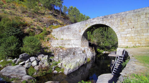 Lagarica bridge Stock Video Footage