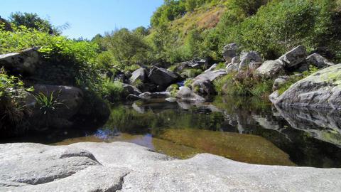 Cabrum river Stock Video Footage