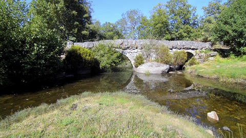 Panchorra bridge Stock Video Footage