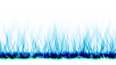 blue fire lines,magnetic field Stock Video Footage