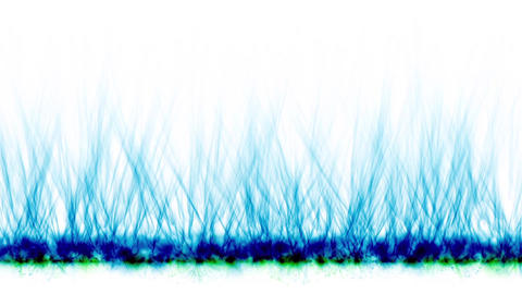 blue fire lines,magnetic field Animation
