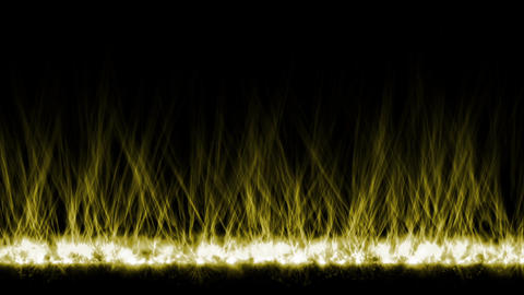 yellow fire lines,magnetic field Animation