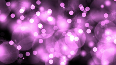 purple light dots & particles,dancing circle,bubble & blister chrismas b Animation