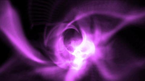 purple light trail & rays laser pulse,smooth... Stock Video Footage