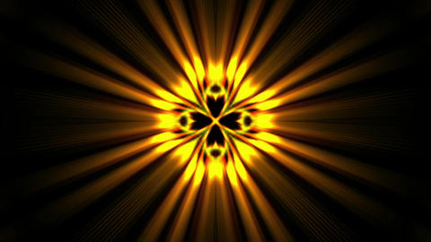 power golden rays laser energy field in space Stock Video Footage