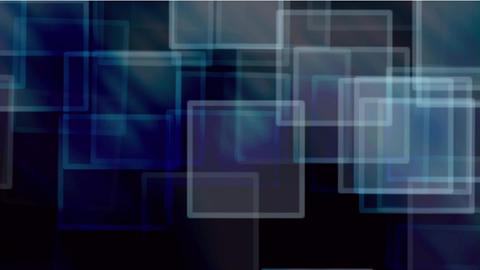 glass square & mosaic debris background,flash light Stock Video Footage