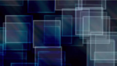 glass square & mosaic debris background,flash light Animation