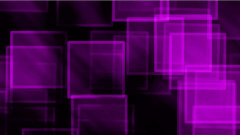 glass purple square & mosaic debris background,flash light Animation