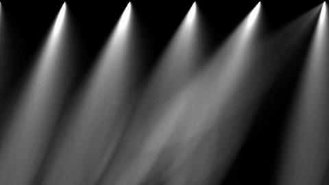 stage light & smoke Animation