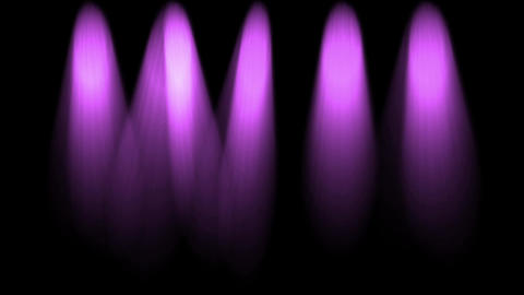 stage purple light & smoke Animation