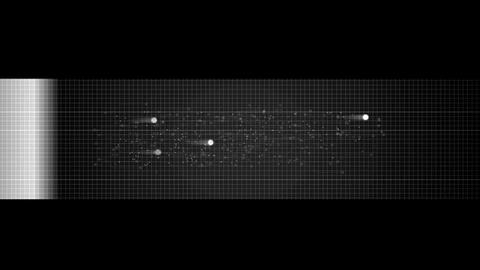 radar scanning alien life in universe,military radar screen Stock Video Footage