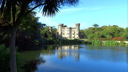 Johnstown Castle 3 Stock Video Footage