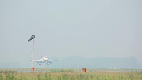 Morning landing Stock Video Footage