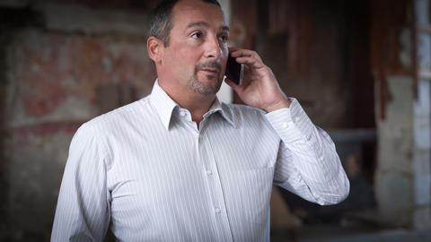 Phone Talk. RAW Video 1 Stock Video Footage