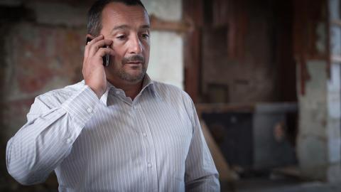 Phone Talk. RAW Video 3 Stock Video Footage