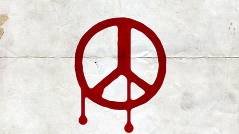 Anarchy - Freedom - Peace Stock Video Footage