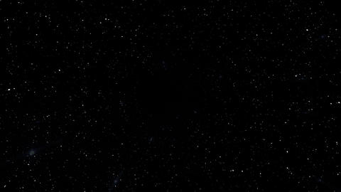 Star Field Space flash c 1b HD Stock Video Footage