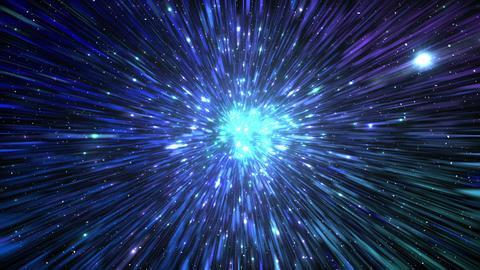 Star Field Space flash c 1b HD Stock Video Footage