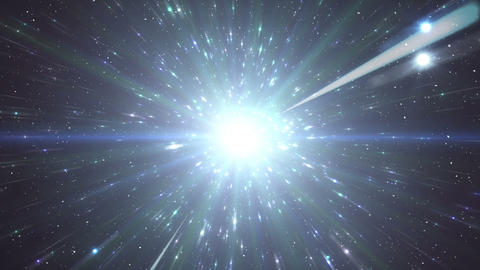 Star Field Space flash c 2a HD Stock Video Footage