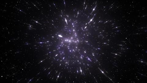 Star Field Space flash c 2c HD Stock Video Footage