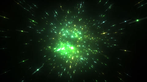 Star Field Space flash c 4a HD Animation