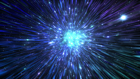 Star Field Space tunnel c 1b HD Stock Video Footage