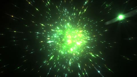 Star Field Space tunnel c 4a HD Stock Video Footage