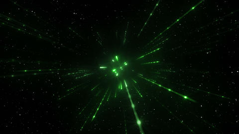 Star Field Space tunnel d 2a HD Stock Video Footage