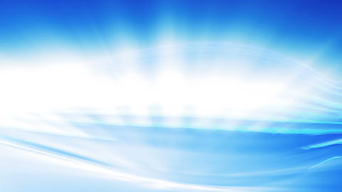 Abstract blue background and white light Stock Video Footage