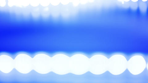 Abstract blue background and white lights Footage