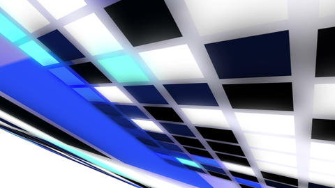 Abstract square background - flying squares animat Animation