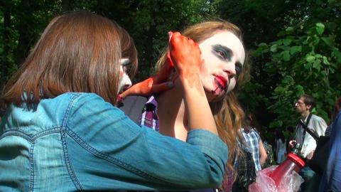 Zombies, ghouls, dead Stock Video Footage