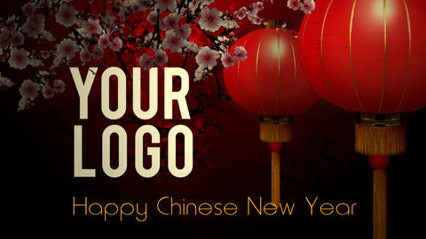 chinese new year intro After Effects Template