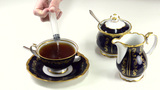Lethal Injection Into A Tea Cup stock footage