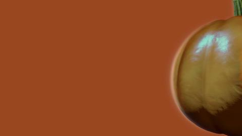 Pumpkin Wipe Transition Stock Video Footage