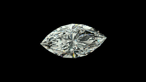 Marquise Cut Diamond Animation